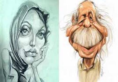 تصاویر عجیب و غریب از بازیگران ایرانی