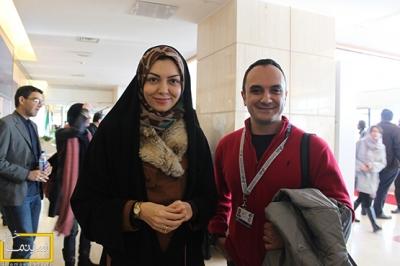 آزاده نامداری و دیگر مجریان در کاخ جشنواره فیلم فجر تصاویر