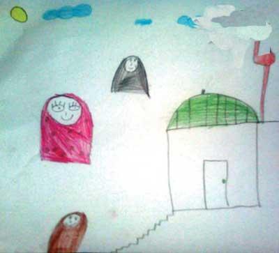 شخصیت شناسی از روی نقاشی بچه ها  تصاویر