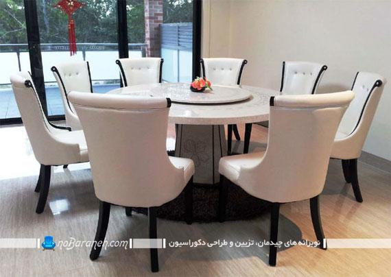 چرا در خانه های ایرانی از میزهای ناهارخوری گرد کمتر استفاده می شود؟