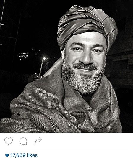 سلفی های بامزه ی امیر آقایی بازیگر سینمای ایران تصاویر