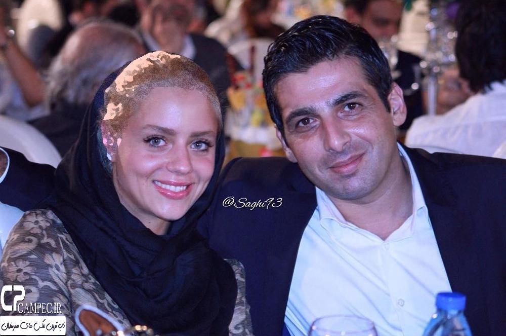 حمید گودرزی و رضا داوودنژاد به همراه همسرانشان در جشن خانه سینما تصاویر