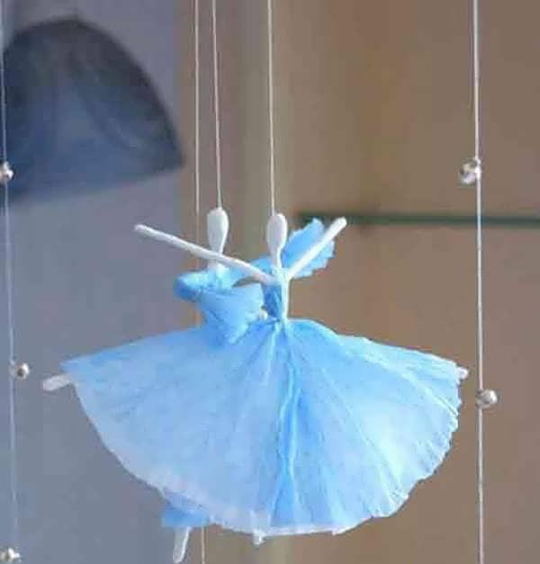 ساخت عروسک های تزیینی بسیار زیبا وساده با دستمال کاغذی مخصوص سفره هفت سین95 تصاویر