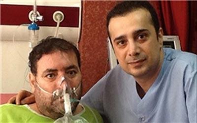 آخرین وضعیت از سپند امیرسلیمانی در بیمارستان عکس
