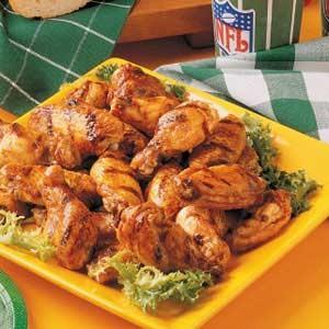 طرز تهیه بال مرغ کبابی تند! عکس