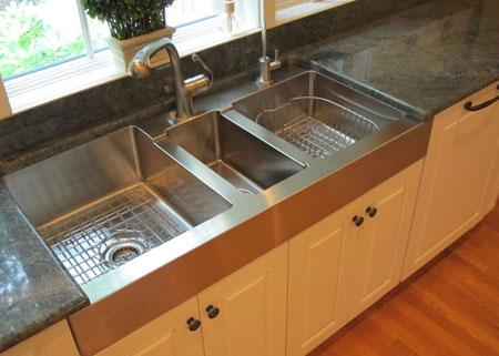 با انواع سینک های ظرفشویی آشنا شوید