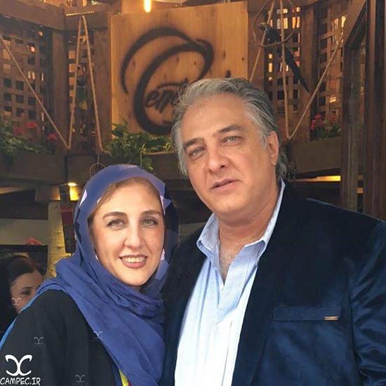 عکس های جدید ایرج نوذری با خواهر و دخترانش