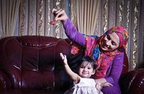 ماجرای جالب و عاشقانه ازدواج روشنک عجمیان و همسرش تصاویر