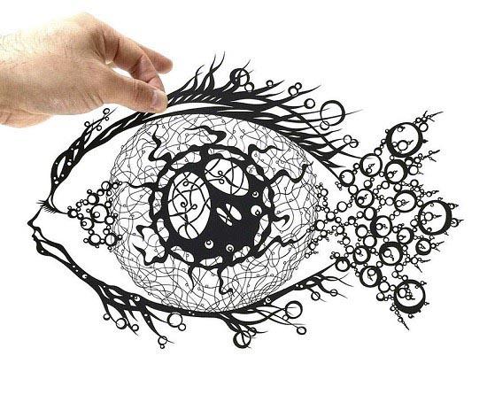هنر کاغذی با با جزئیات دقیق و بی نهایت پیچیده! تصاویر
