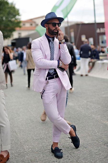 شیک ترین و جذاب ترین مدهای مردانه خیابانی در هفته مد ایتالیا