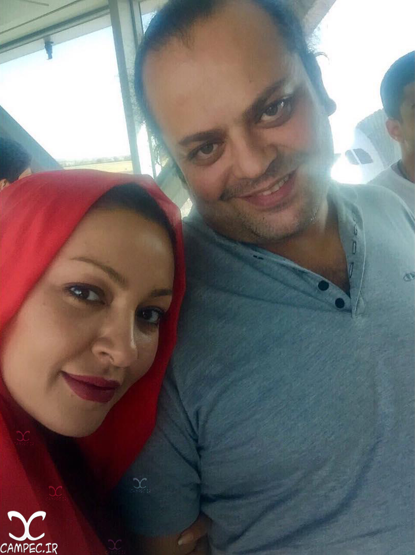 بیوگرافی و عکسهای زیبا بروفه با همسرش پیام صابری! تصاویر