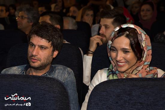 تصاویر مراسم آیین دیدار فیلم سینمایی پشت در خبری نیست باحضور بازیگران مشهور