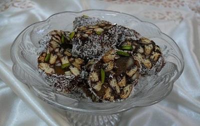یه شیرینی ساده ،خوشمزه وخوشگل برای عاشقای شکلات! عکس