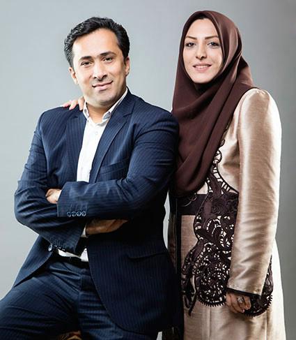 گفتگویی خواندنی با داوود عابدی و همسرش المیرا شریفی مقدم، زوج خبری شبکه خبر تصاویر