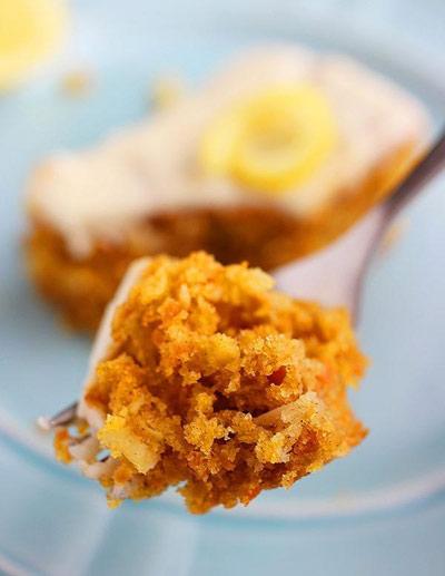 شیرینی هویج موزاییکی