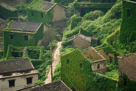 روستایی که با طبیعت یکی شد! تصاویر