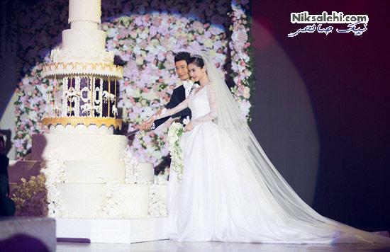 عروسی بسیار پرتجمل کیم کارداشیان چینی