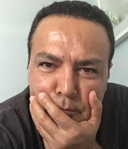 سلفی های پی در پی فریبرز عرب نیا!! تصاویر