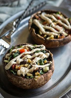 خوراکی های خوشمزه و وسوسه برانگیز با قارچ! عکس