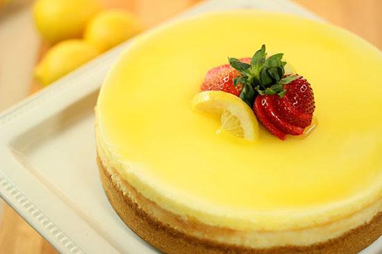 چیز کیک لیموییِ خیلی خوشمزه!br /