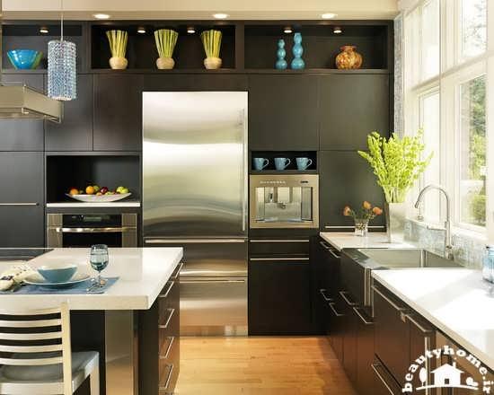 دکوراسیون های جدید و زیبای آشپزخانه  تصاویر