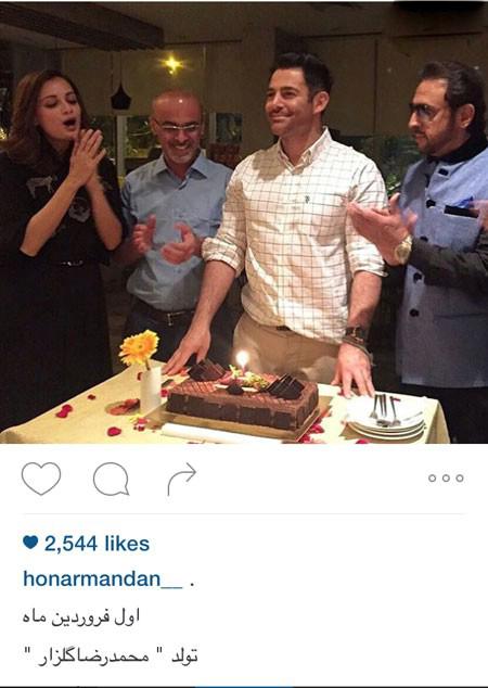 محمدرضا گلزار از تولدش تا تبریک سال نو تصاویر
