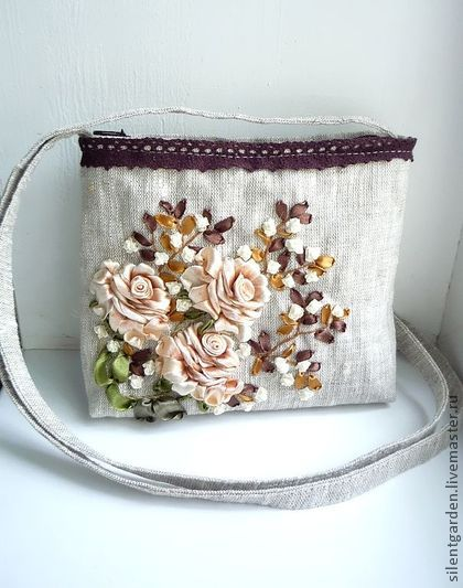 کیف های روبان دوزی شده  تصاویر زیبا