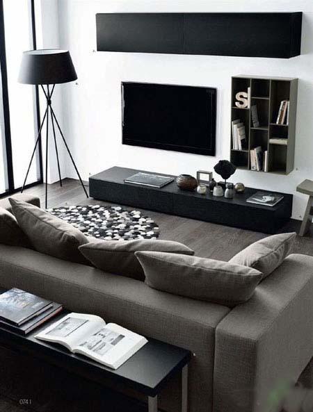 جدیدترین وزیباترین ایده های طراحی اتاق نشیمن شیک و مدرن