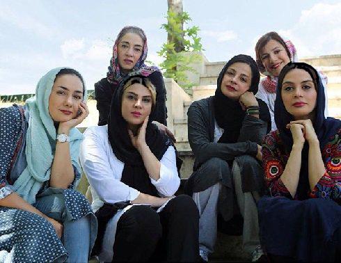 تیم اسکواش هنرمندان زن به سرپرستی شبنم فرشاد جو! عکس