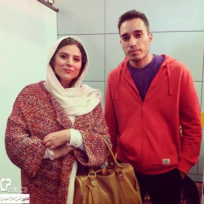 تصویری از سحر دولتشاهی برنده سیمرغ نقش مکمل زن از جشنواره فجر 93 عکس