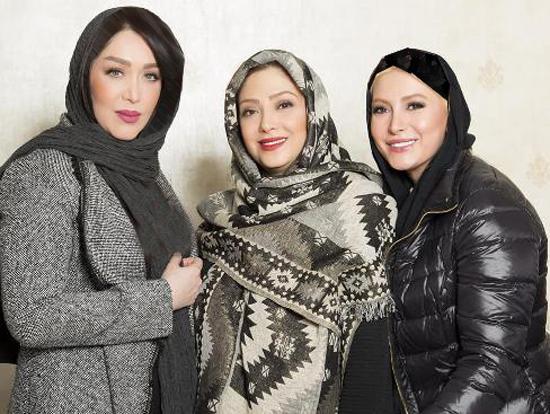 بازیگران زن سینما در سالن زیبایی مریم سلطانی