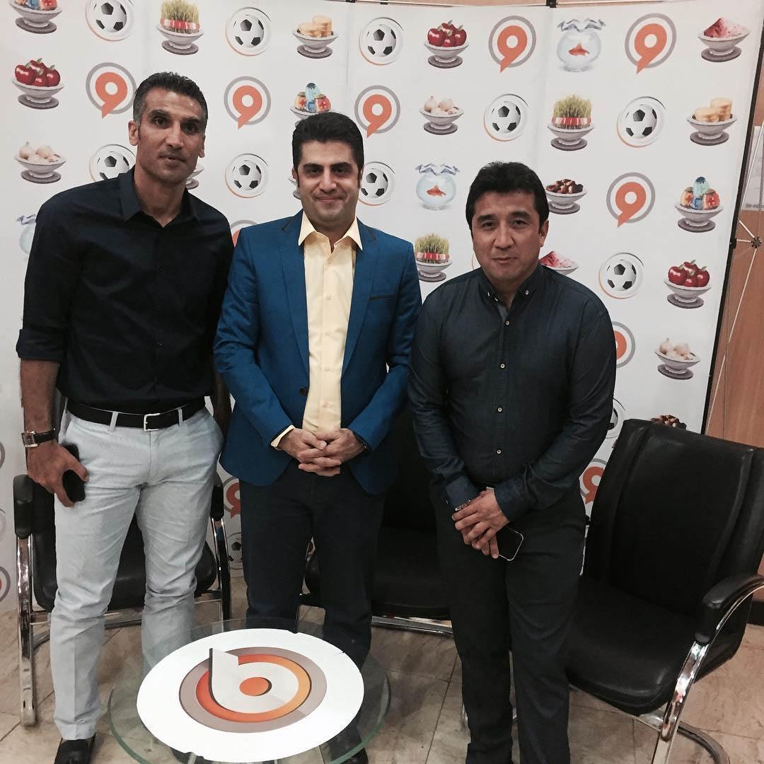 دو ستاره محبوب فوتبال ایران میهمان شبکه ورزش