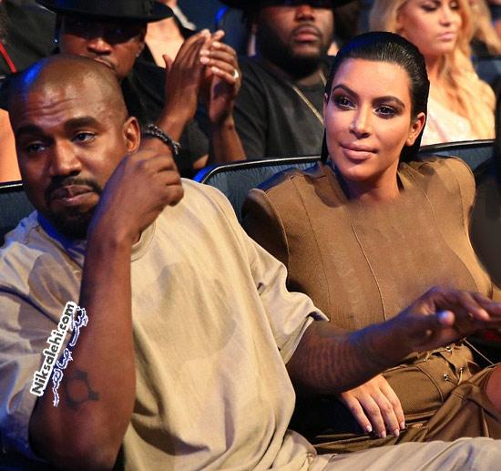 خبر شوک برانگیز همسر کیم کارداشیان در مراسم MTV