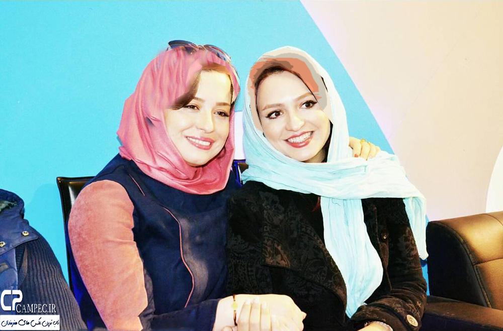 مهراوه شریفی نیا بازیگر سریال کیمیا در نمایشگاه مطبوعات