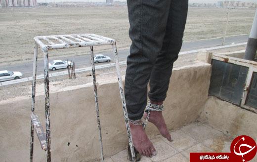 حلق آویز کردن جوان 28 ساله در فاز یک ساختمان مسکونی