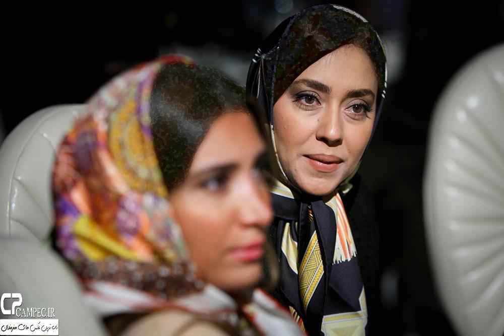 نیکی مظفری و بهاره کیان افشار در مراسم جشن خانه سینما تصاویر