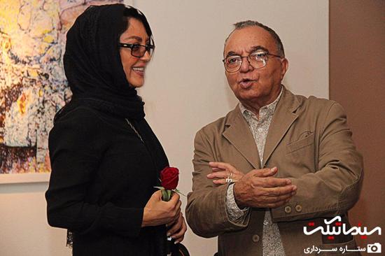 مراسم افتتاحیه گالری عکس تهمینه میلانی با حضور بازیگران مشهور