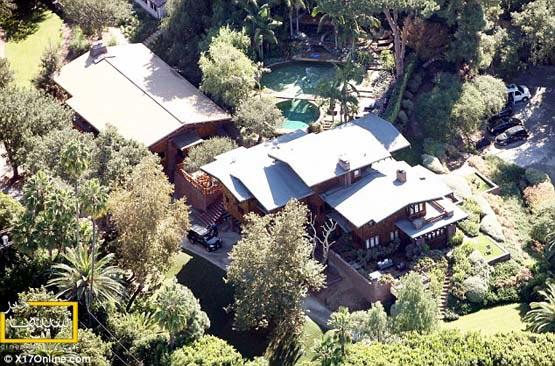 خانه جدید آنجلینا جولی و برد پیت در لس آنجلس