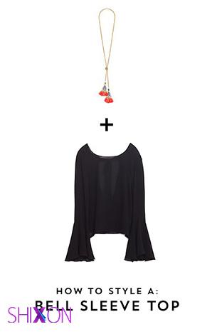 ستهای مختلف گردنبندو پیراهن برای لاغرها و چاق ها!