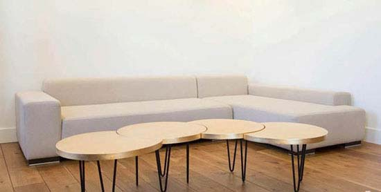 زیباترین مدل میز پذیرایی مدولار مناسب دکوراسیون مدرن تصاویر