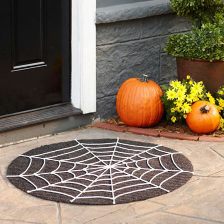 ورودی خانه تان را با این ایده های جالب، ترسناک کنید  تصاویر