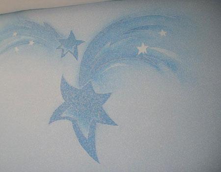 نمونه هائی از تزئین دیواری بلکا  تصاویر