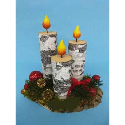 آموزش ساخت شمع تزیینی بسیار زیبا با وسایل دور ریختنی تصاویر