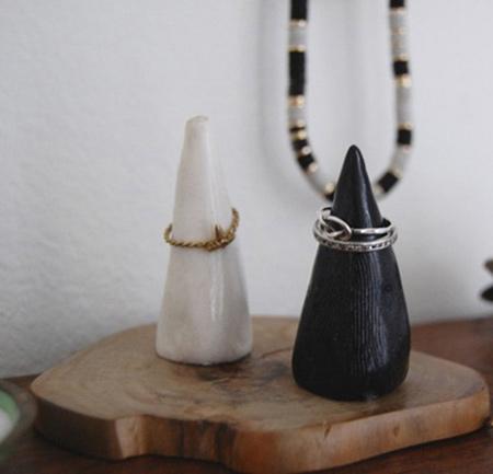 ساخت جا انگشتری زیبا برای نگهداری حلقه تصاویر