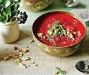 سوپ لبو با طعم سیر و زنجبیل