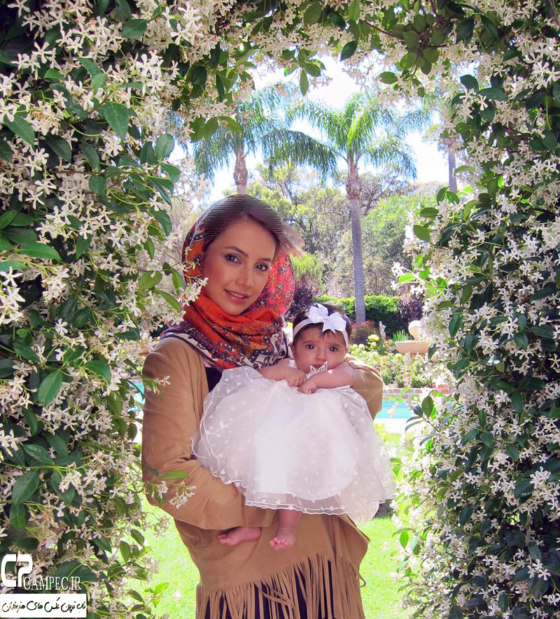 عکس های جدید شبنم قلی خانی با خانواده اش در استرالیا