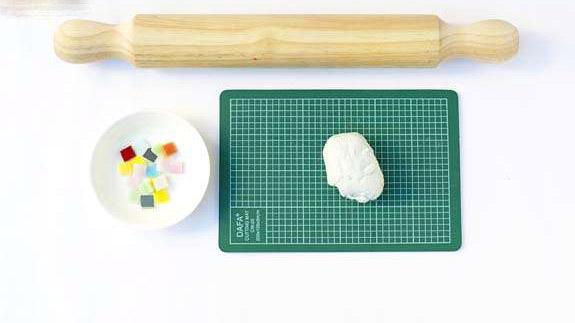 آموزش ساخت زیرلیوانی موزاییکی بسیار زیبا با وسایل ساده