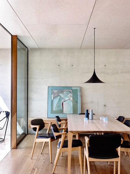 ناهارخوری مدرن برای خانه زیبا