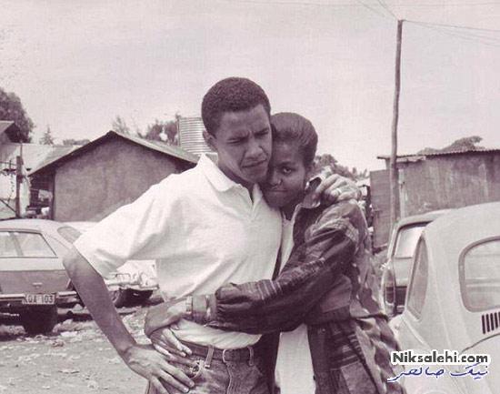 عکسی که اوباما به مناسبت 23امین سالگرد ازدواجش منتشر کرد