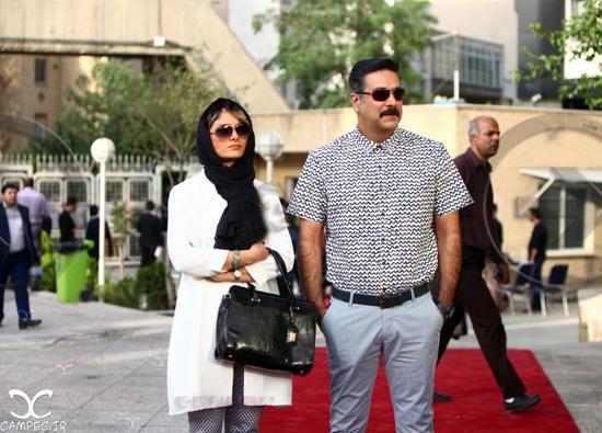 عکس های جدید حمیدرضا پگاه و همسرش نغمه نادری